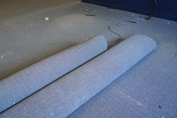 Commercial Carpet Dying & Repairs